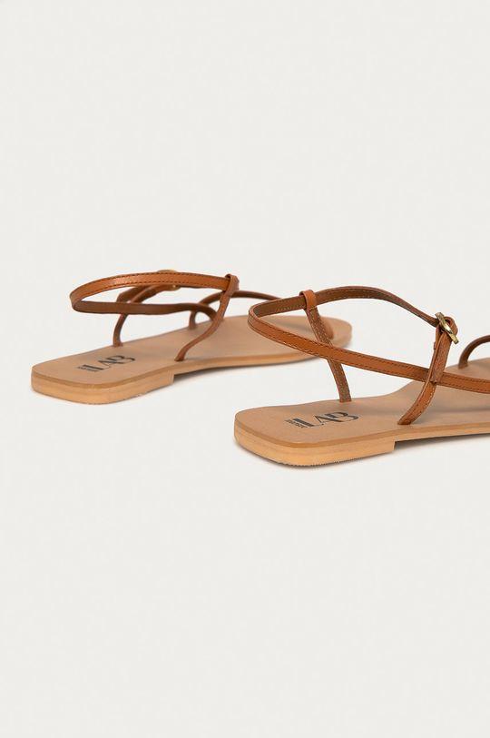 Answear Lab - Kožené sandály  Svršek: Přírodní kůže Vnitřek: Umělá hmota Podrážka: Umělá hmota