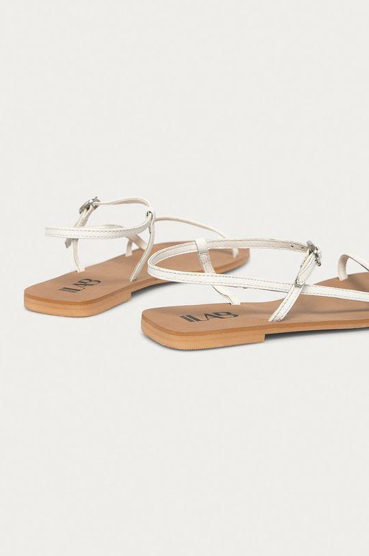 Answear Lab - Sandały skórzane biały