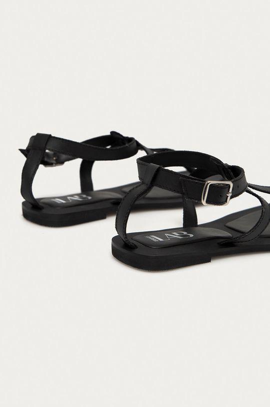 Answear Lab - Kožené sandály z narozeninové kolekce  Svršek: Přírodní kůže Vnitřek: Umělá hmota Podrážka: Umělá hmota