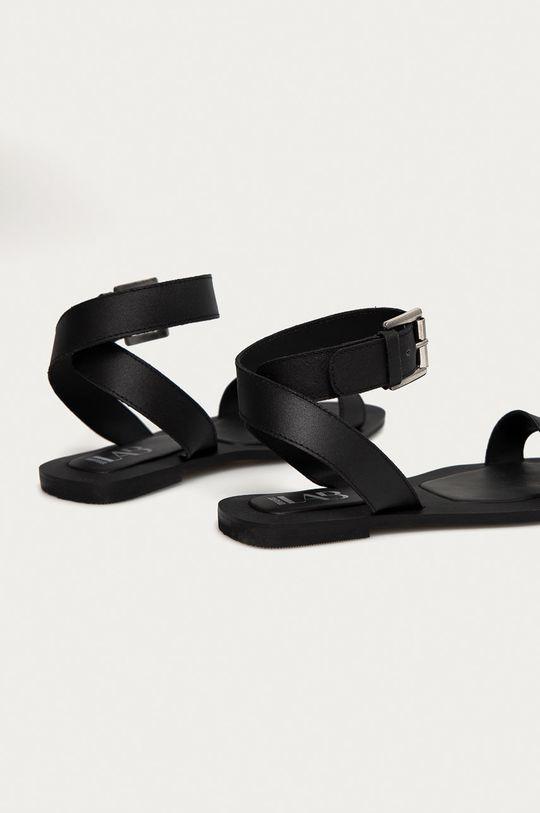 Answear Lab - Kožené sandále  Zvršok: Prírodná koža Vnútro: Syntetická látka Podrážka: Syntetická látka