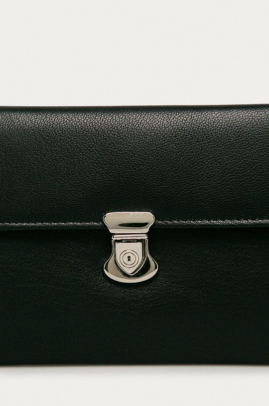 Answear Lab - Kožená peněženka černá