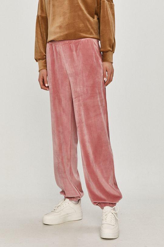 starorůžová Answear Lab - Kalhoty Dámský