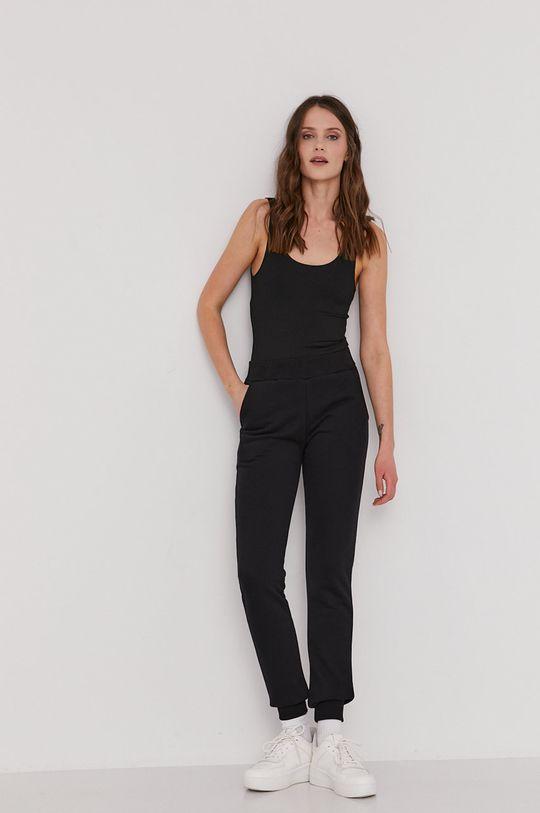 Answear Lab - Spodnie Natural Flow czarny
