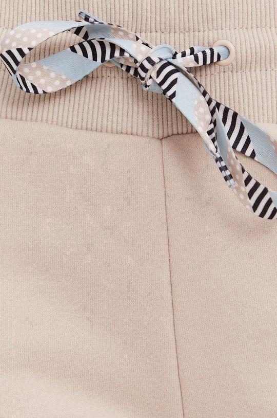 beżowy Answear Lab - Spodnie Natural Flow