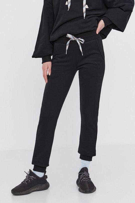 czarny Answear Lab - Spodnie Natural Flow Damski