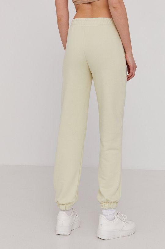 Answear Lab - Spodnie Natural Flow 90 % Bawełna, 10 % Poliester