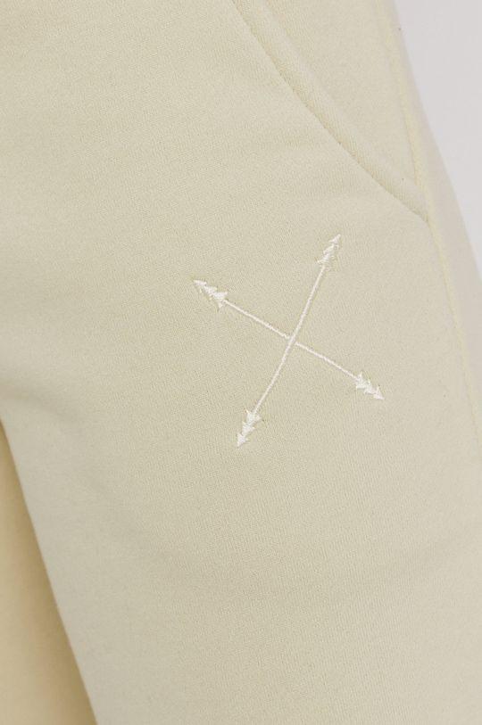 miętowy Answear Lab - Spodnie Natural Flow
