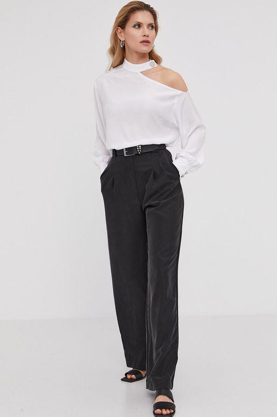 Answear Lab x Paulina Krupińska Spodnie z kolekcji urodzinowej czarny