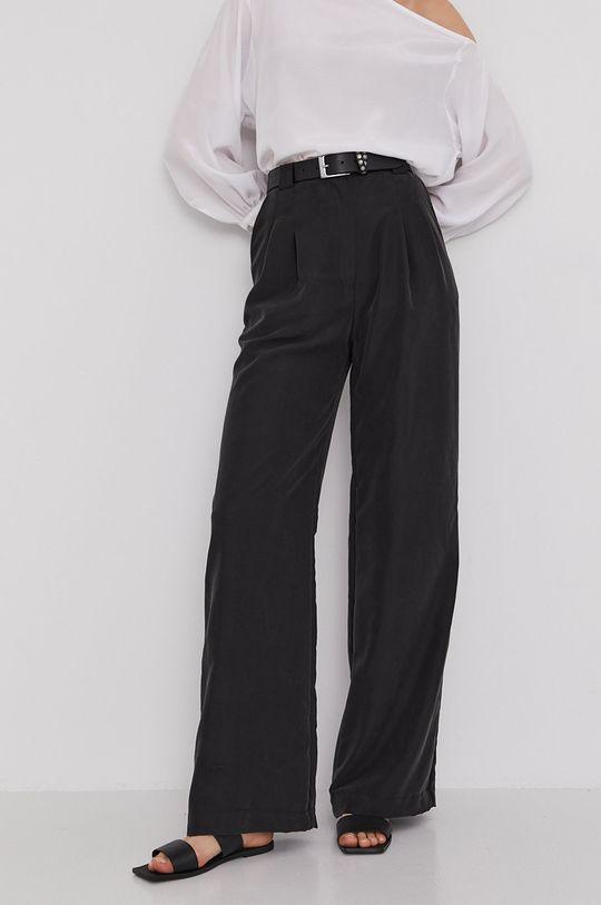 czarny Answear Lab x Paulina Krupińska Spodnie z kolekcji urodzinowej