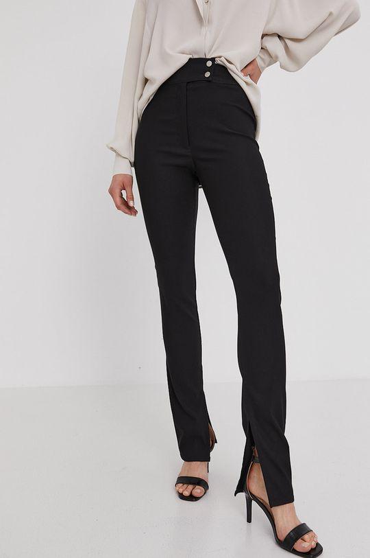 černá Answear Lab - Kalhoty z narozeninové kolekce Dámský