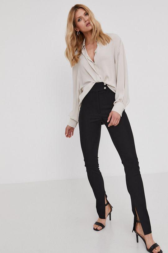 Answear Lab - Kalhoty z narozeninové kolekce černá