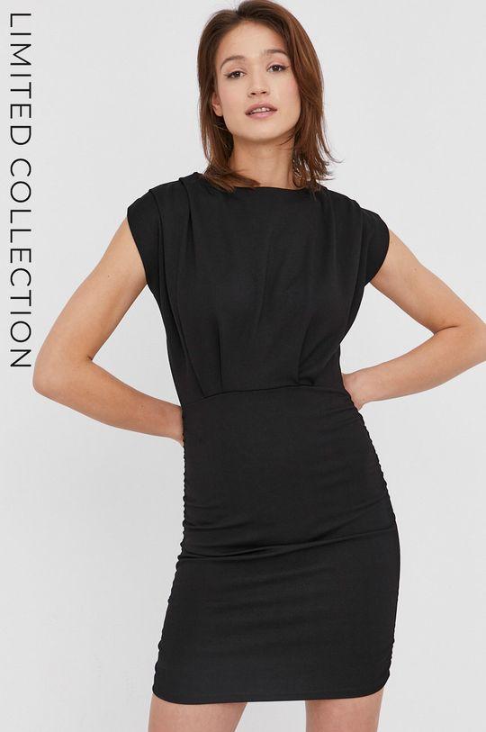 czarny Sukienka answear.LAB X kolekcja limitowana GIRL POWER Damski
