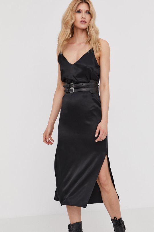 czarny Answear Lab - Sukienka z kolekcji urodzinowej