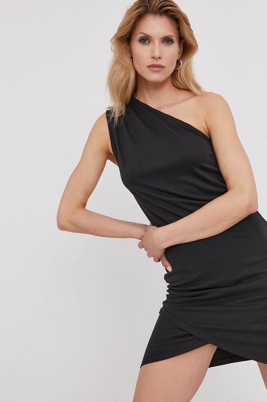 Answear Lab x Paulina Krupińska Sukienka z kolekcji urodzinowej czarny
