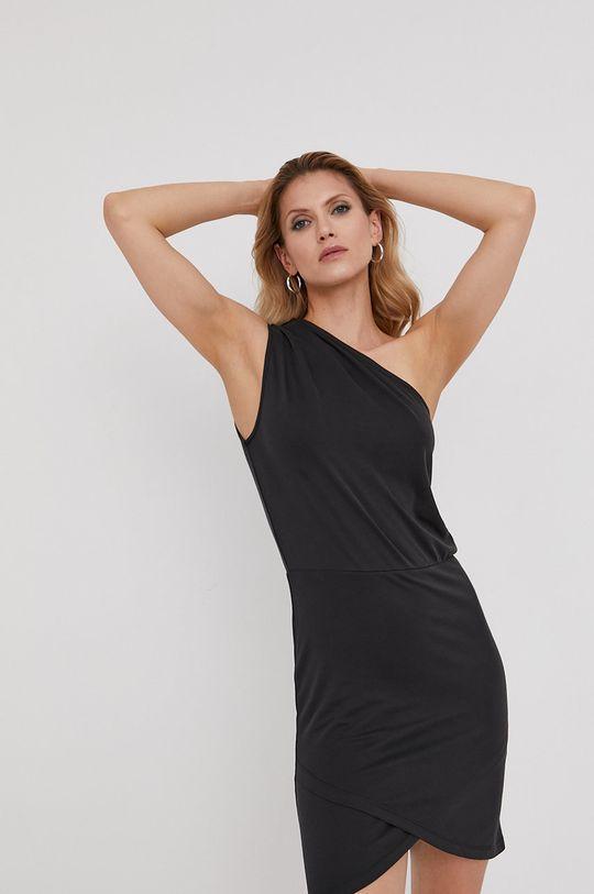 czarny Answear Lab x Paulina Krupińska Sukienka z kolekcji urodzinowej