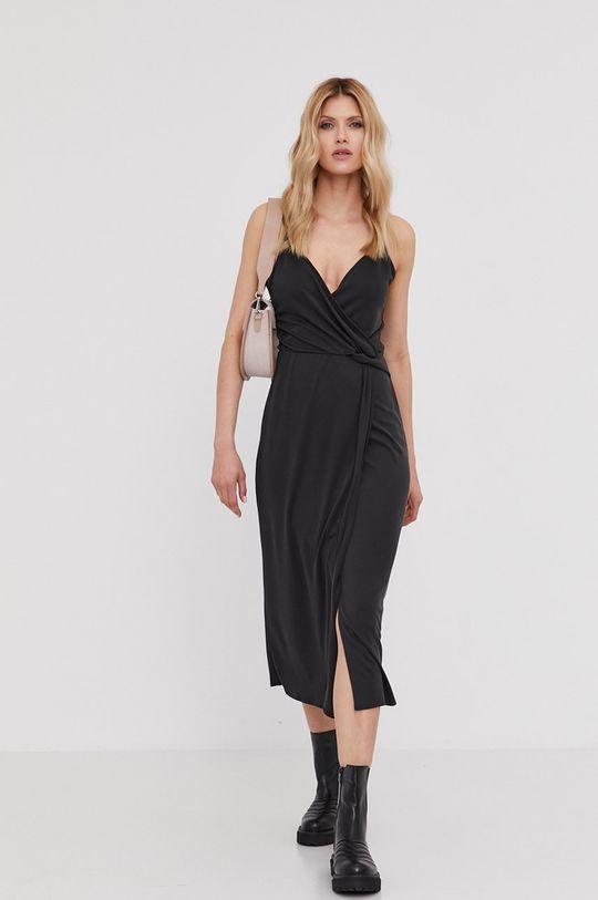 Answear Lab - Šaty z narodeninovej kolekcie čierna