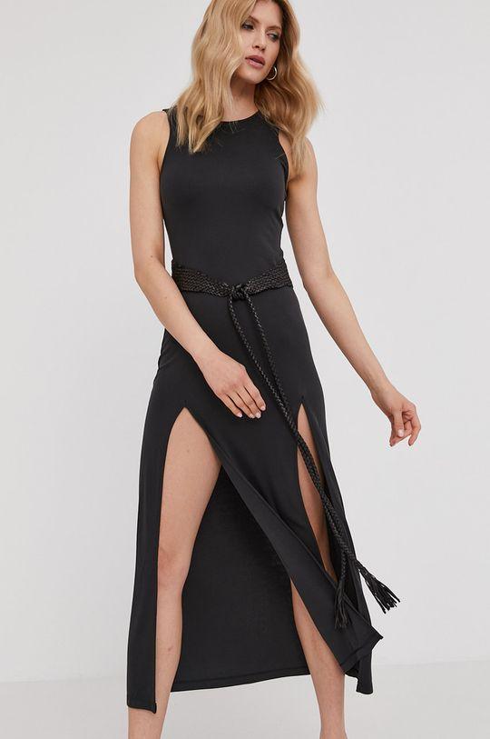 černá Answear Lab - Šaty z narozeninové kolekce