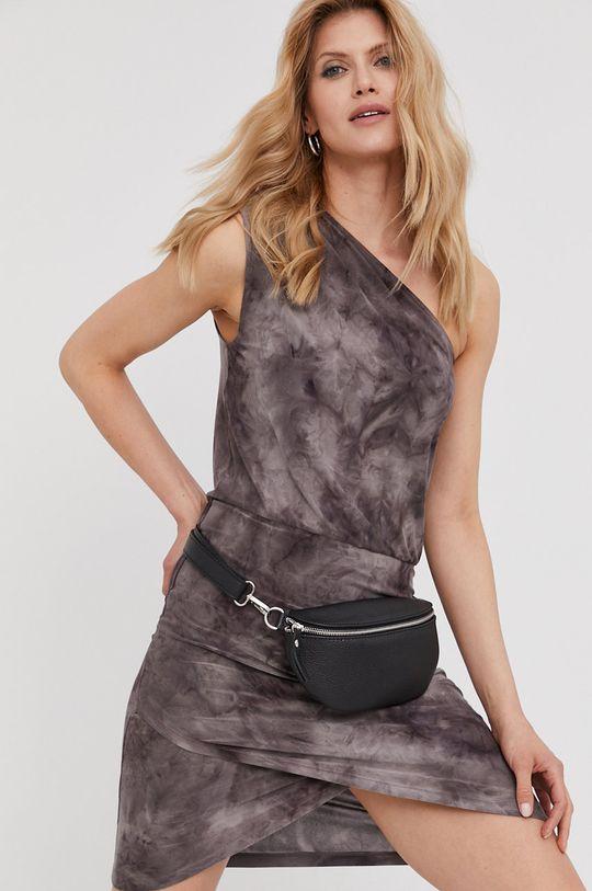 šedá Answear Lab - Šaty z narozeninové kolekce Dámský
