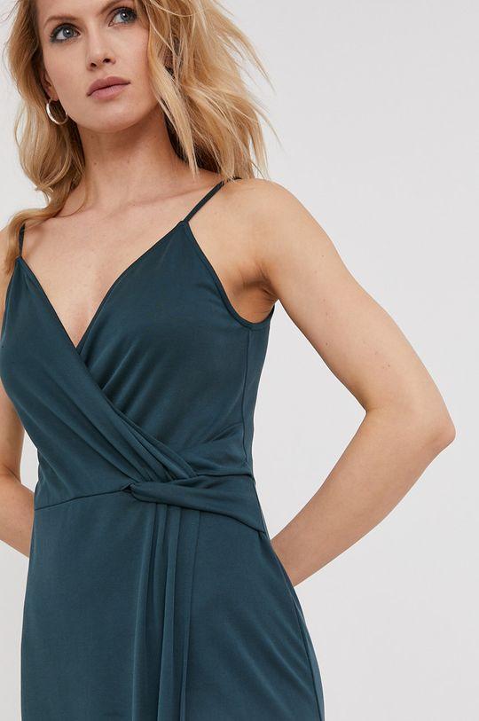 tyrkysová Answear Lab - Šaty z narozeninové kolekce