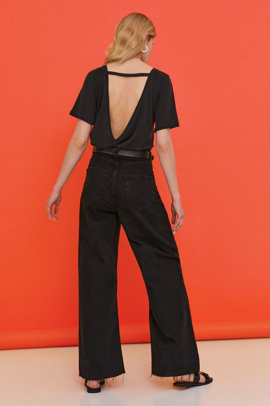 černá Answear Lab - Tričko z narozeninové kolekce Dámský