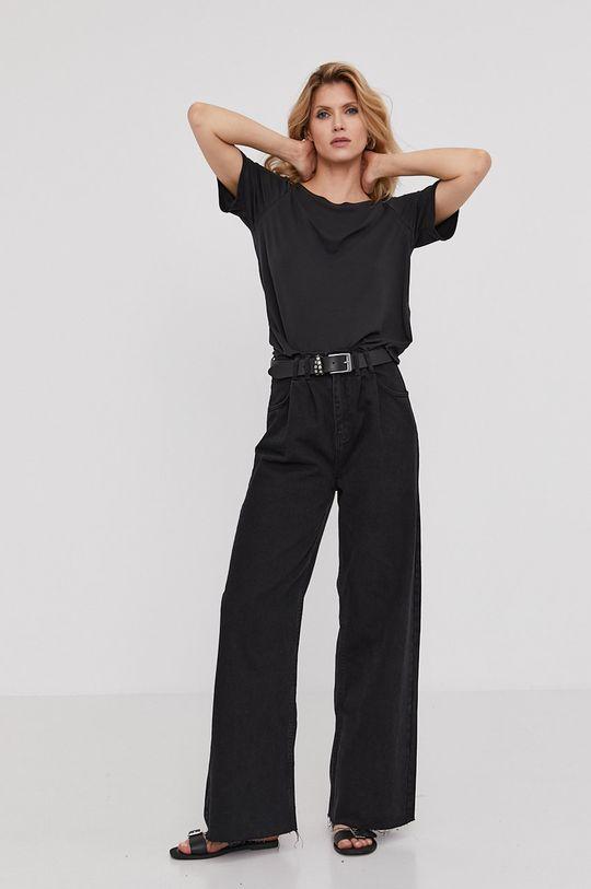 Answear Lab - Tričko z narozeninové kolekce  65% Modal, 35% Polyamid