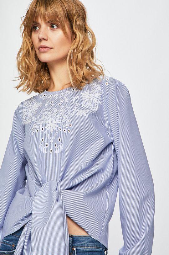 albastru Answear - Bluza