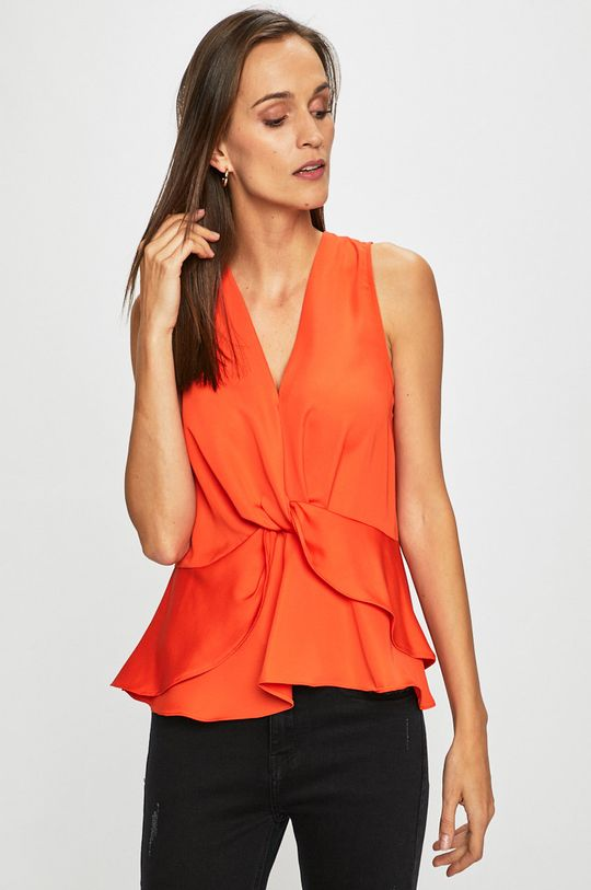 portocaliu Answear - Top De femei