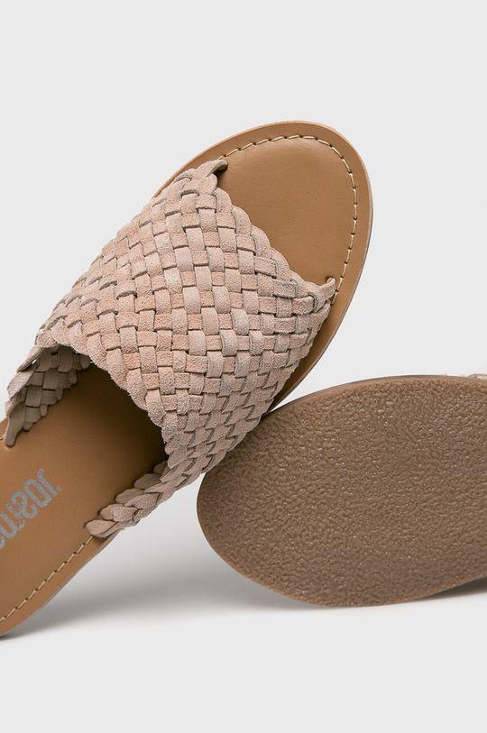 Answear - Papuci Gamba: Piele naturala Interiorul: Piele naturala Talpa: Material sintetic