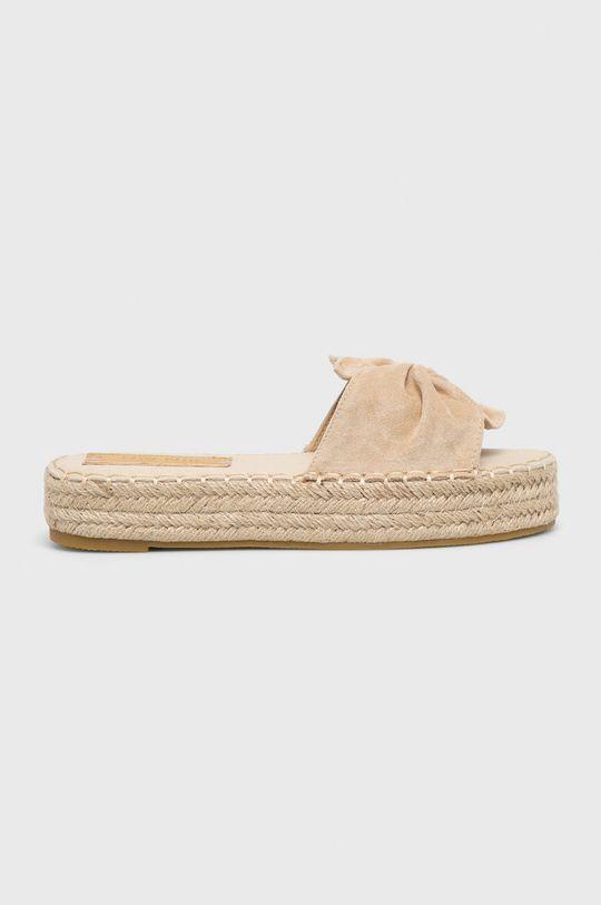 bézs Answear - Papucs cipő Nio Nio Női