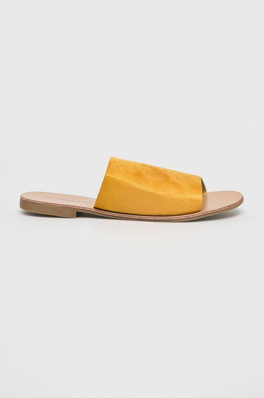 sárga Answear - Papucs cipő Abloom Női