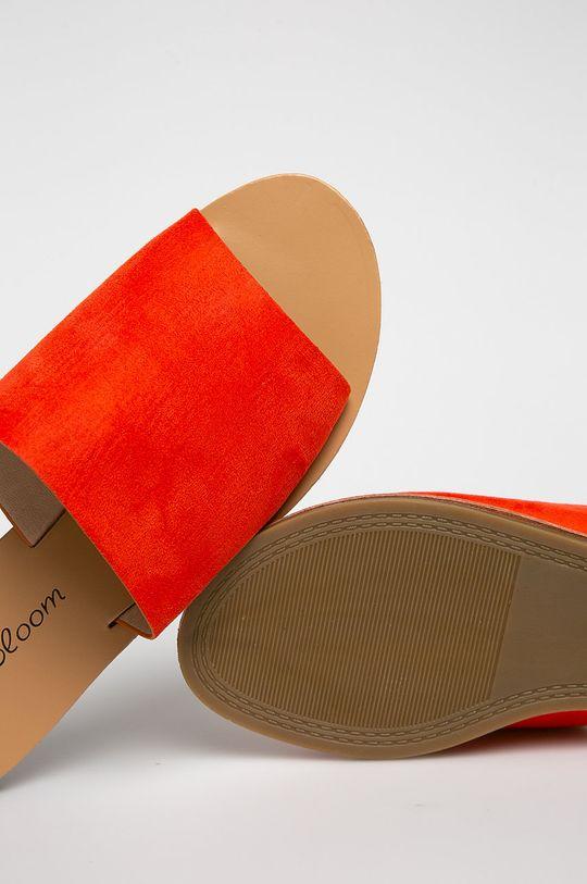 Answear - Papucs cipő Abloom  Szár: textil Belseje: szintetikus anyag, természetes bőr Talp: szintetikus anyag