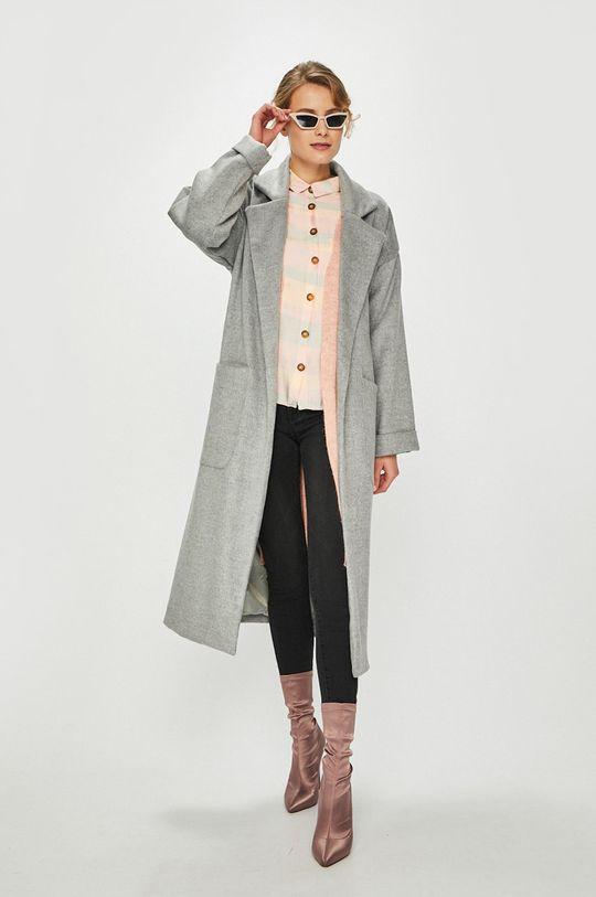 Answear - Kabát Orient Express šedá