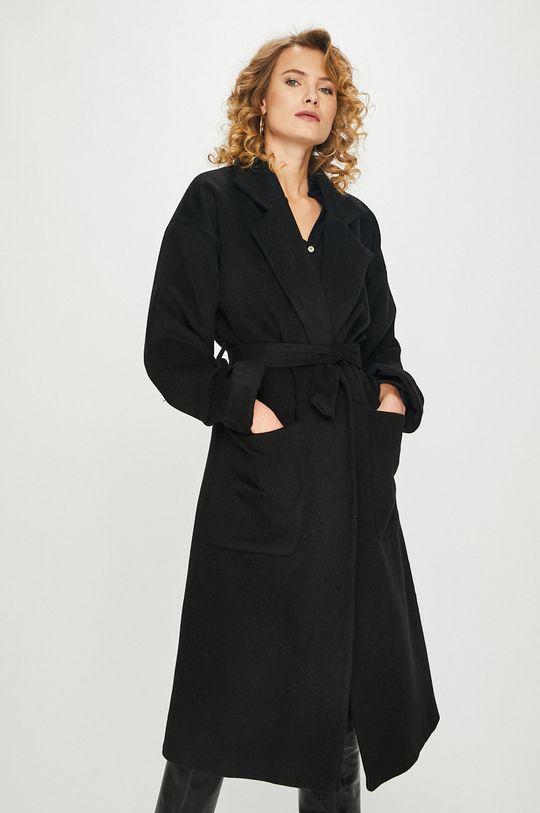 czarny Answear Lab - Płaszcz Damski