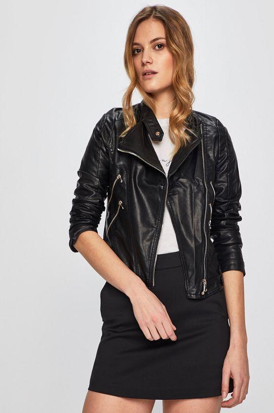fekete Answear - Rövid kabát Sweet & Salty Női