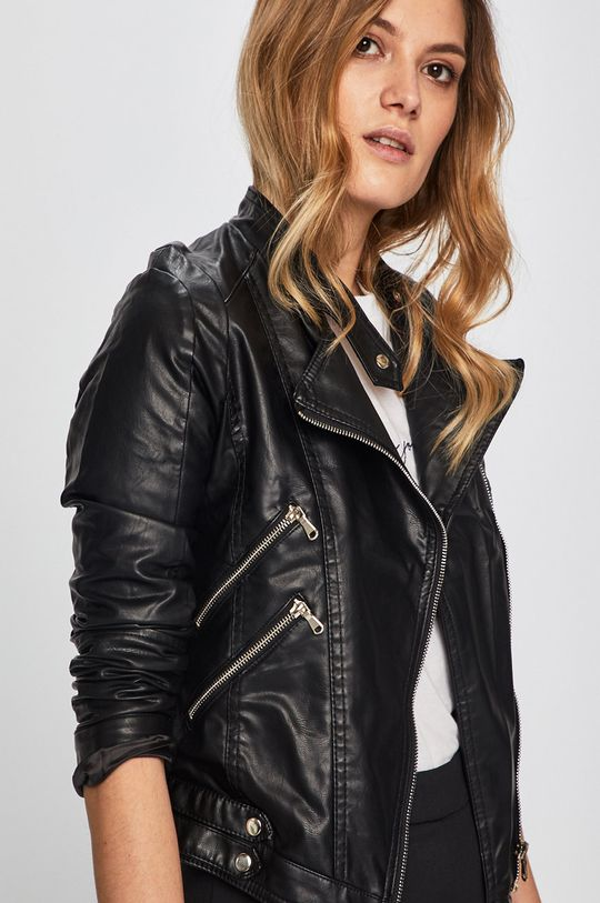 fekete Answear - Rövid kabát Sweet & Salty
