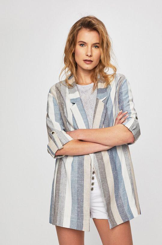 albastru Answear - Sacou De femei