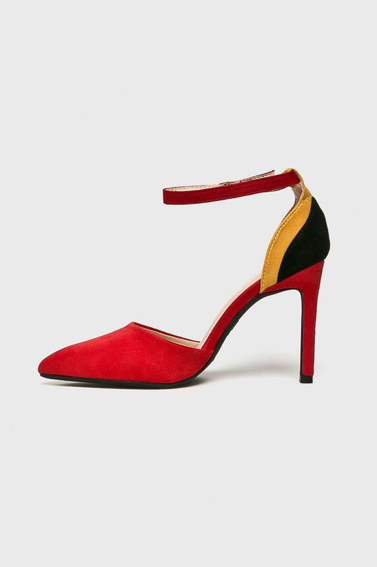 rosu Answear - Pantofi cu toc