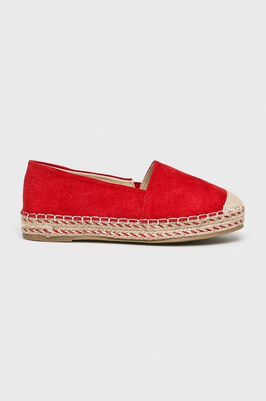 piros Answear - Espadrilles Pinkai Női
