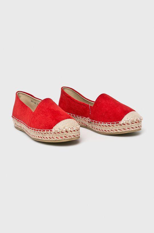 Answear - Espadrilles Pinkai piros