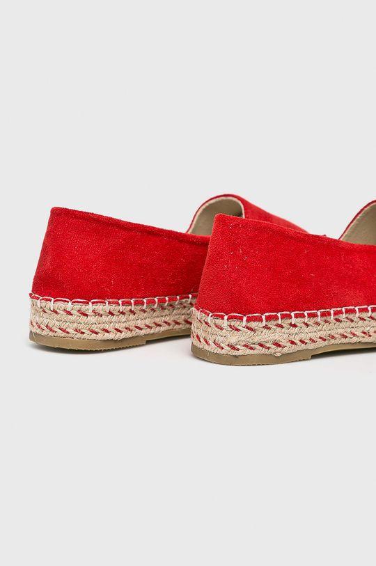 Answear - Espadrilles Pinkai  Szár: textil Belseje: textil Talp: szintetikus anyag