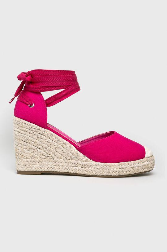 mályva Answear - Espadrilles Ideal Shoes Női