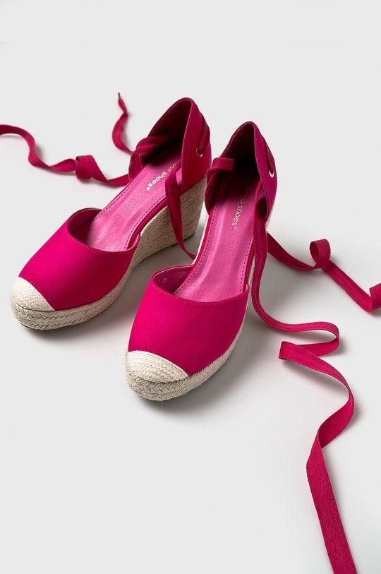Answear - Espadrilles Ideal Shoes mályva