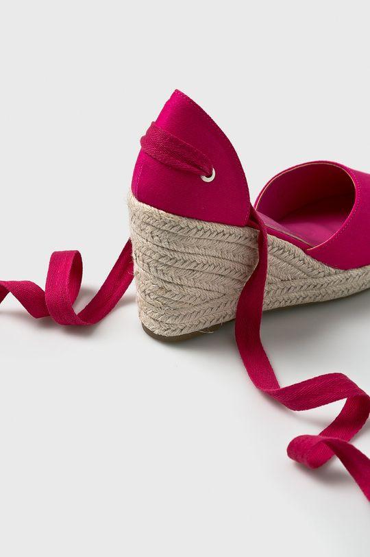 Answear - Espadrilles Ideal Shoes  Szár: textil Belseje: szintetikus anyag Talp: szintetikus anyag