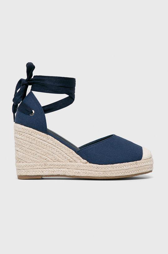sötétkék Answear - Espadrilles Ideal Shoes Női