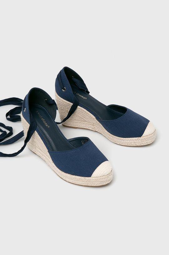 Answear - Espadrilles Ideal Shoes sötétkék