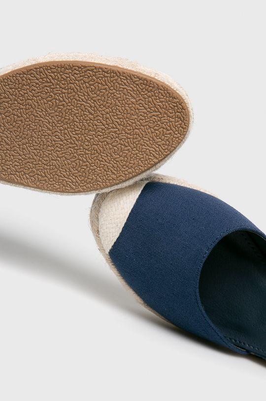 sötétkék Answear - Espadrilles Ideal Shoes