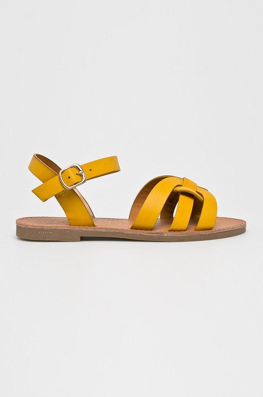 sárga Answear - Szandál Bo Aime Női