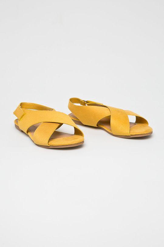 Answear - Szandál Abloom sárga