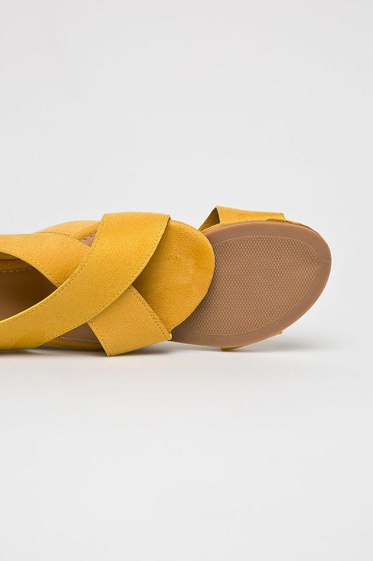 sárga Answear - Szandál Abloom