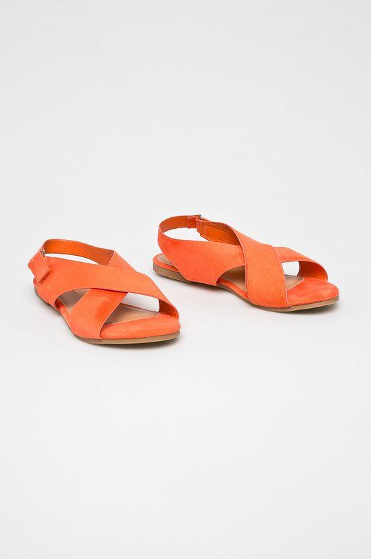 Answear - Szandál Abloom narancssárga